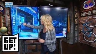 Michelle Beadle breaks down film of Amin Elhassan attempting American Ninja Warrior | Get Up! | ESPN