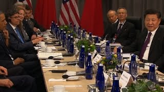 AP-Obama, Xi address nuclear threat from North Korea..