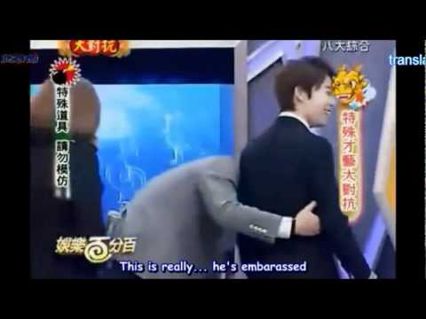 [ENG] Siwon makes a fool out of inocent Donghae