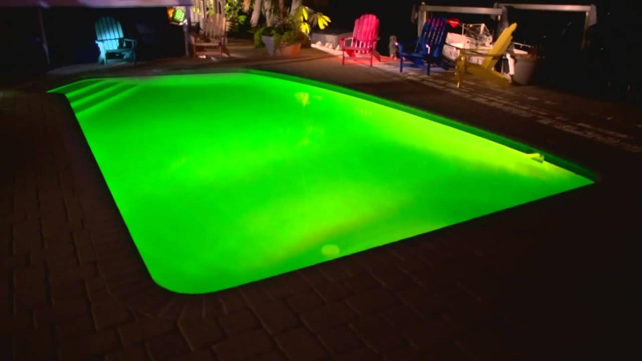 Hayward Colorlogic Led In Ground Swimming Pool Kit Light