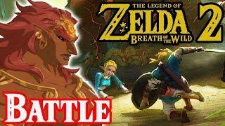 Ganondorf's Final Battle in Zelda Breath of the Wild 2