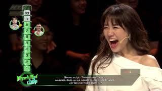 Châu Đăng Khoa trả lời thông minh, Giang cười chấp nhận|HTV NHANH NHƯ CHỚP|NNC #21|25/8/2018