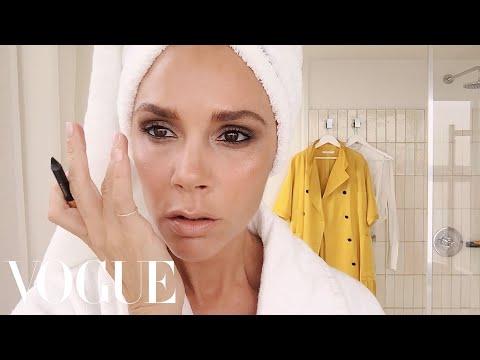 Victoria Beckham's Five-Minute Face | Beauty Secrets | Vogue