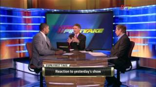 Fallout from Jalen Rose comments to Skip Bayless