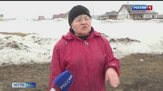 Большая вода пришла в Азовский район