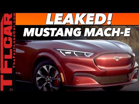 Breaking News - 2021 Ford Mustang Mach-E: Here's Everything You Need to Know!