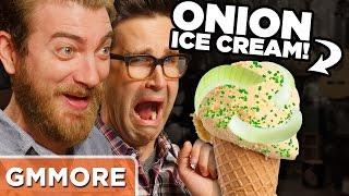Onion Ice Cream Taste Test - Mythical Crew