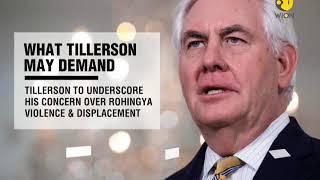 Rex Tillerson to visit Myanmar amid Rohingya crisis