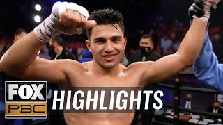Armando Resendiz wins split decision vs. Quilisto Madera in debut | HIGHLIGHTS | PBC ON FOX