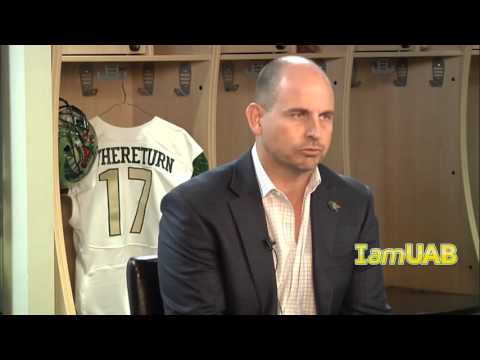 IamUAB - Coach Bill Clark reacts to the 2016 Signing Day class