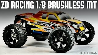 ZD Racing 1/8 Monster Truck UNDER $250 - Unboxing & In-Depth Look