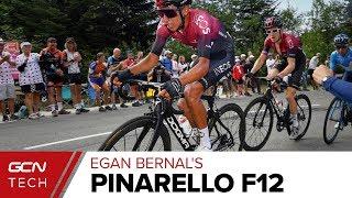 Egan Bernal's Pinarello Dogma F12 X-Light | Tour de France 2019 Pro Bike
