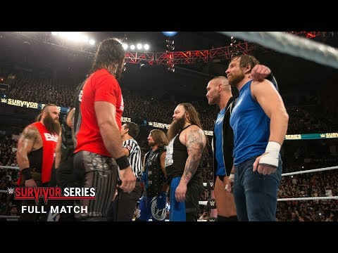 FULL MATCH - 5-on-5 Traditional Survivor Series Tag Team Elimination Match: Survivor Series 2016