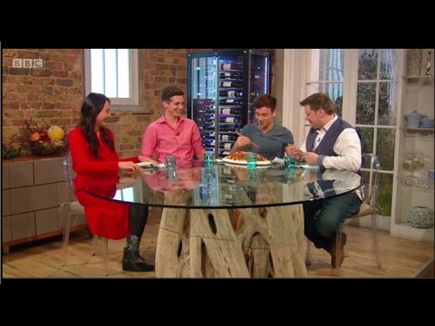 Tom Daley on Saturday Kitchen