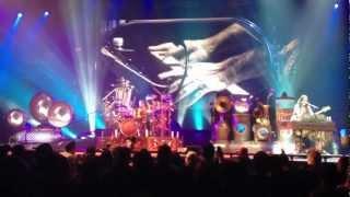 Rush - Concert Intro & Subdivisions (live @ Edmonton sept 30 2012) Clockwork Angels tour