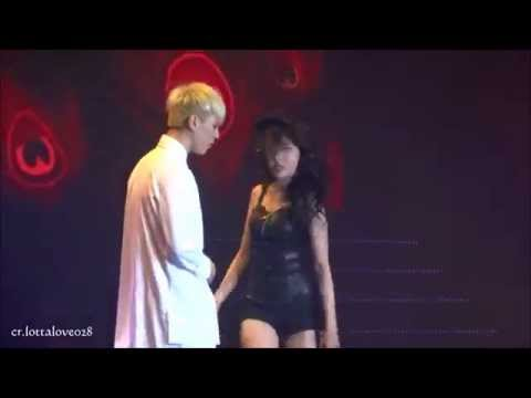 [fancam]140830 JYP Nation Hong Kong Sunmi 24Hours (with GOT7 Yugyeom)