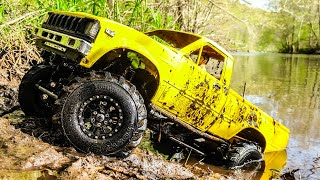 RC Truck Mudding 4x4 Off Road Deep Mud Bogging Toyota Hilux