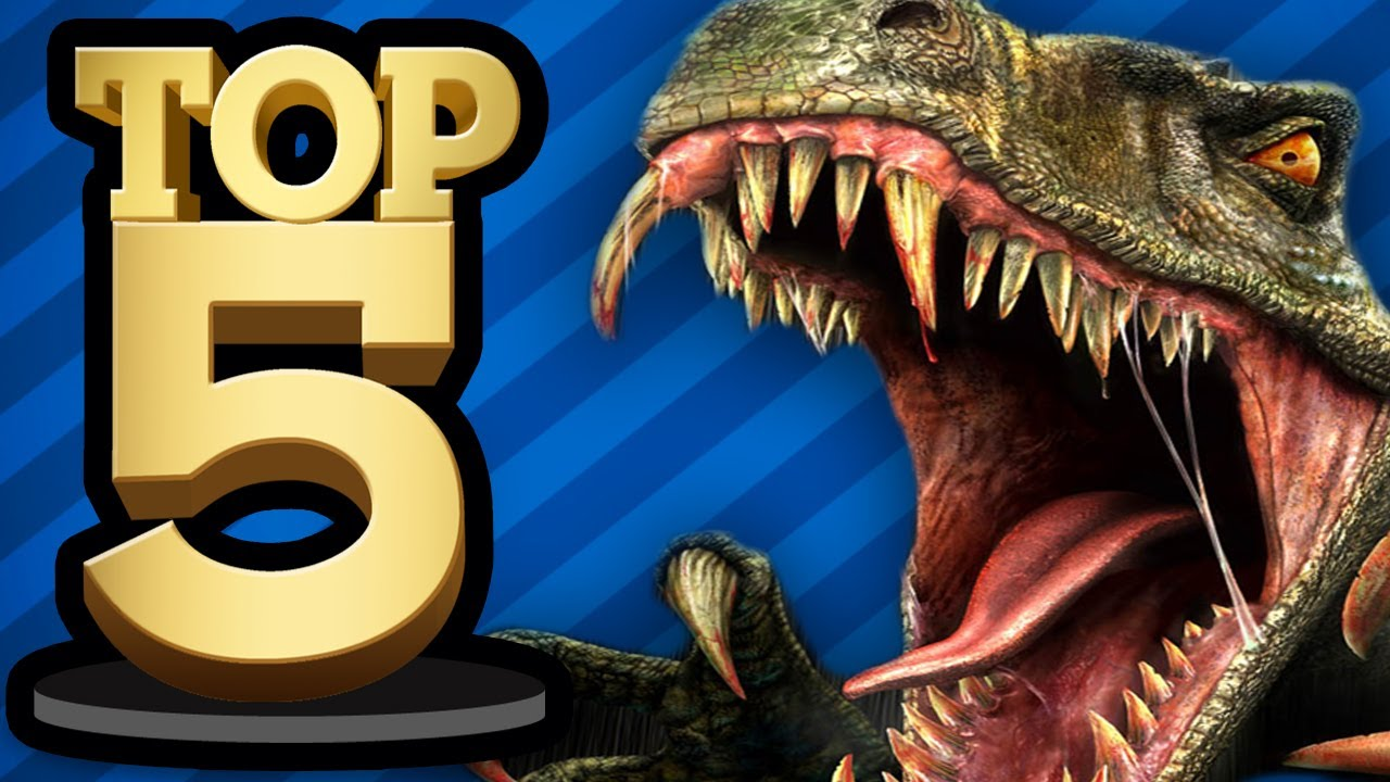 TOP 5 DINOSAUR GAMES