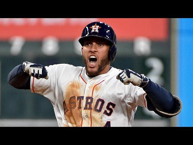 MLB/春天哥雙響砲 太空人橫掃晉級美聯冠軍賽