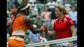 Serena Williams vs Kim Clijsters 2003 Miami Highlights