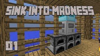 ►BEST START EVER!   Sink Into Madness #1   Modded Minecraft◄   iJevin