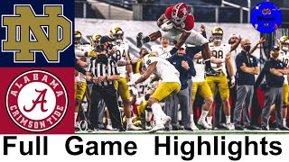 #1 Alabama vs #4 Notre Dame CFP Semifinal Highlights | 2021 Rose Bowl | 2021 College Football