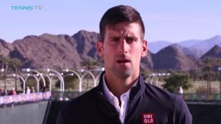 Novak Djokovic Unfazed by Loaded Quarter