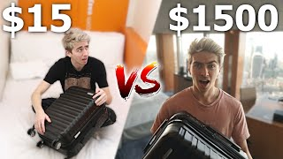 $15 HOTEL ROOM VS $1500 HOTEL ROOM