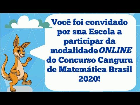 Tutorial Alunos | Prova Online - Canguru de Matemática Brasil