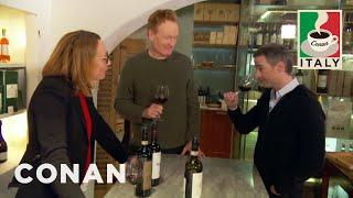 Outtakes From Conan & Jordan's Wine Tasting  - CONAN on TBS