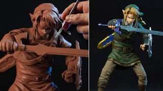 Sculpting LINK | The Legend Of Zelda - [ Ocarina Of Time ]