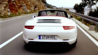 *Combined fuel consumption in accordance with EU 5: 911 Carrera models: 11.2 - 8.2 l/100 km, CO2 emission 263 - 194 g/km