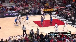NBA Playoffs 2017 Game 4: Golden State Warriors vs Portland Trail Blazers  Full Game Highlights