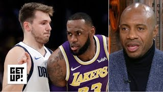 Luka Doncic's numbers are like LeBron James - Jay Williams | Get Up!