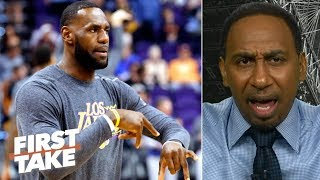 Time for LeBron to give the Lakers an ultimatum – Stephen A. | First Take