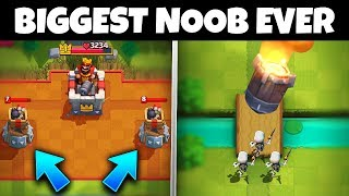 THE WORST PLAYER TO EVER EXIST in Clash Royale!