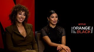 Interview with Jackie Cruz & Diane Guerrero for Season 5 of Orange Is The New Black