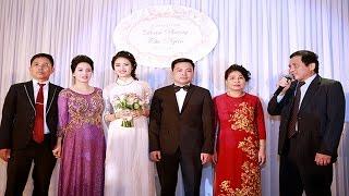 Choáng với tiệc cưới hơn 1000 khách của Hoa Hậu Thu Ngân và chồng đại gia ?