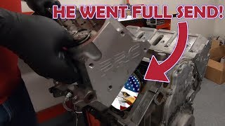CLEETUS MCFARLAND'S 7 SECOND ENGINE TEAR DOWN!