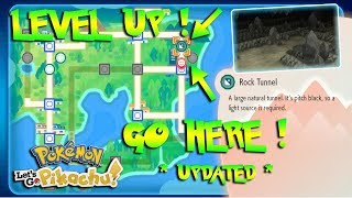 Pokemon Let's Go | How To LEVEL UP EXTREMELY FAST *UPDATED*