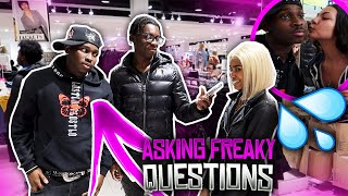 ASKING FREAKY😋 QUESTIONS WITH BIG WINNN😂| Public Inteview (Gone Freaky)