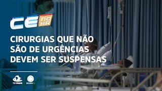 Cirurgias que não são de urgências devem ser suspensas