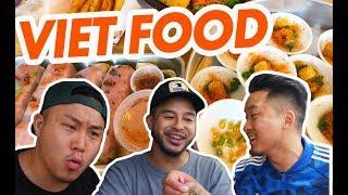 SUMMER VIETNAMESE FOOD w/ RICHIE (Nem Nuong, Banh Beo, Nem Chua)  - Fung Bros