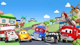 Cidade do Carro - Desenhos Animados para Crianças 🚒 🚓 🚑 transmissão ao vivo