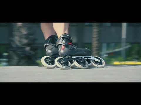 Video ROLLERBLADE Roller ENDURACE 110 ELITE - 19 Noir vert