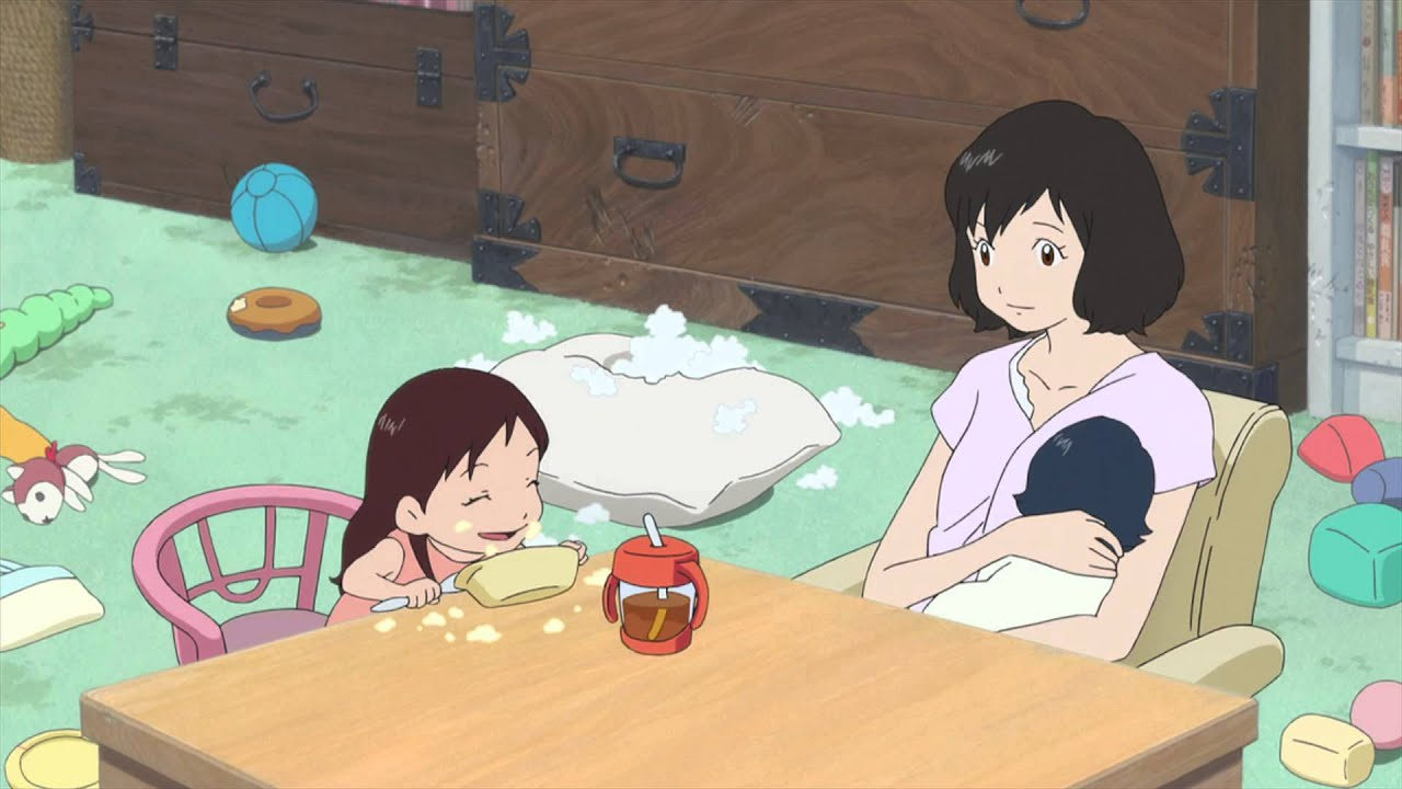 Wolf Children Official Clip A Mother S Love English