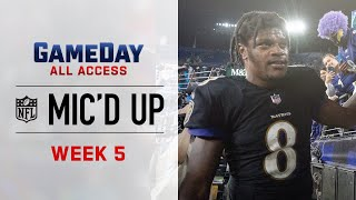 NFL Week 5 Mic'd Up