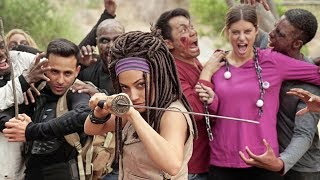 THE WALKING DEAD: NO MAN'S LAND | Inanna Sarkis, Hannah Stocking & Anwar Jibawi