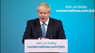 Watch live: Boris Johnson delivers speech after being named Britain's next prime minister