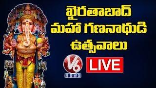 Khairatabad LIVE- Ganesh Chaturthi Celebrations..